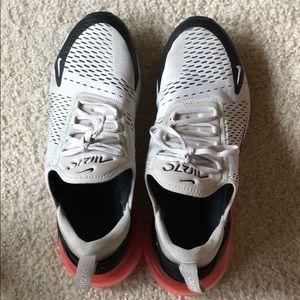 Nike Air Max 270s light bone size 13
